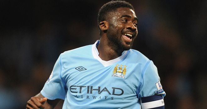 Kolo Toure: Has served a six-month ban and has returned to City's first team plans