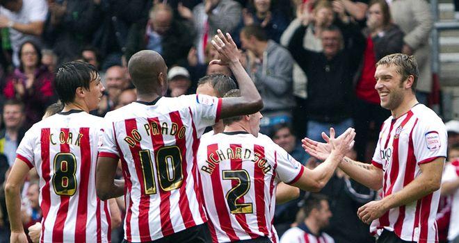 Southampton: Lambert celebrates
