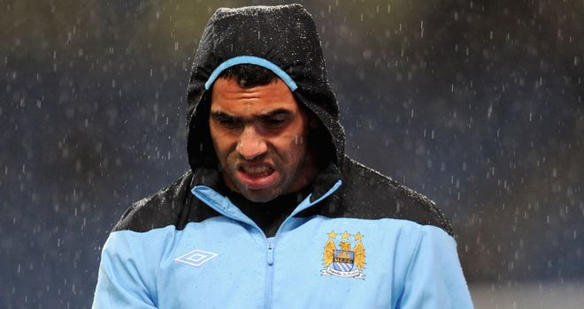Tevez: Mancini claims the Argentine is 'finished' at City and will never play for him again