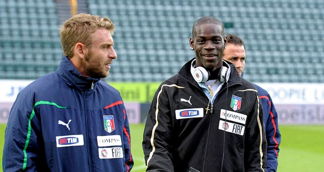 Balotelli: Backed to become a great success but he must develop his game 'on and off the field'