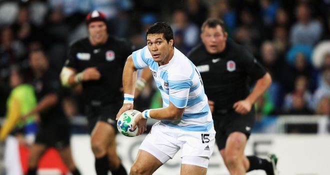 Martin Rodriguez: Will start at full-back against South Africa