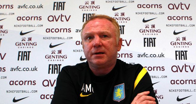 McLeish: Confident his three key players will play against Everton at the weekend