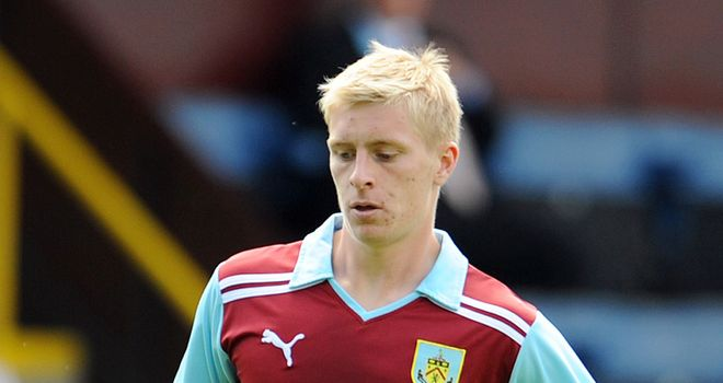 Mee: Keen to impress on loan at Burnley before trying to make his mark at Manchester City