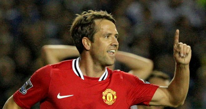 Michael Owen: The striker has enjoyed his time at Manchester United and would love to extend his contract