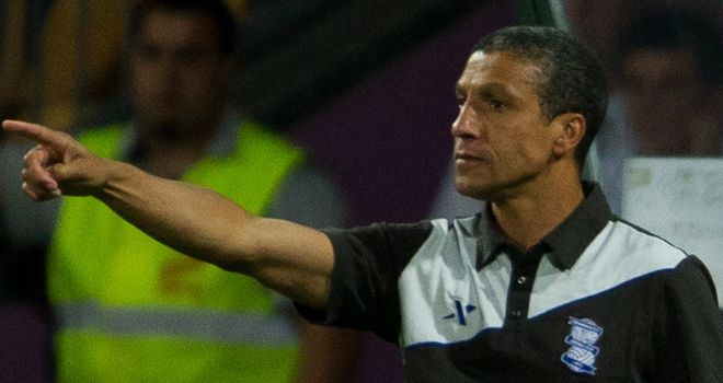 Chris Hughton: Leads his side to landmark victory in the Europa League