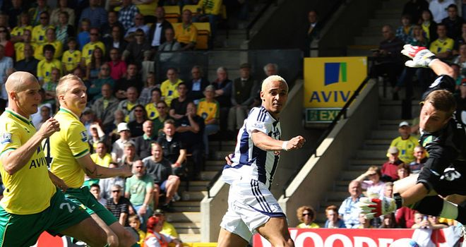 Odemwingie: Early goal enough for West Brom