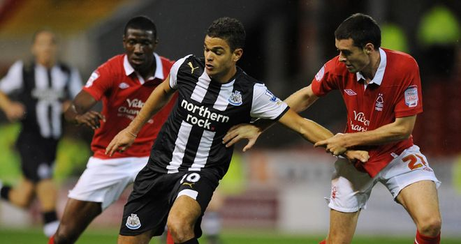 Ben Arfa: Made his return to competitive action at the City Ground
