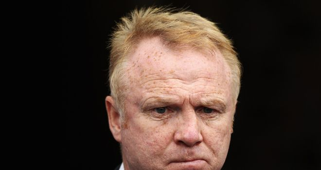 Alex McLeish: Says Darren Bent incident will have no damaging effect on Aston Villa