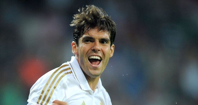Kaka: Determined to win his place back in the Real Madrid and Brazil sides