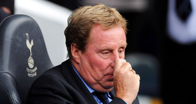 Redknapp: Delighted with his young guns in their Europa League draw in Greece