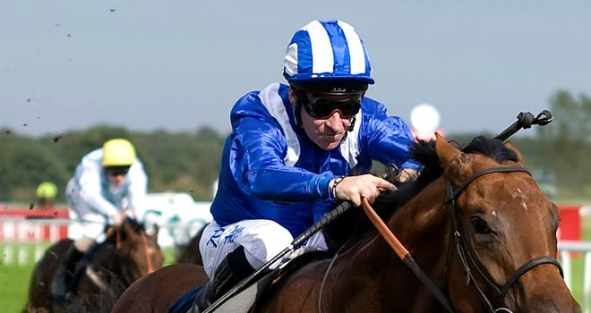 Richard Hills and Ektihaam: Ran out easy winners