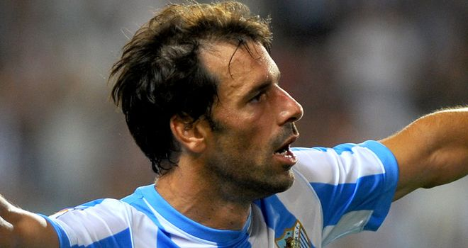 Ruud van Nistelrooy: On target for European hopefuls Malaga in the 2-1 win at Espanyol