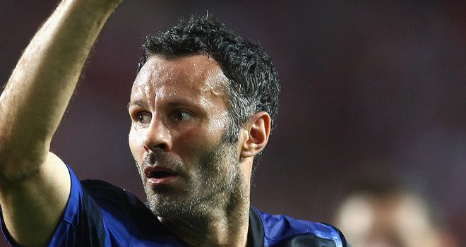 Giggs: On target