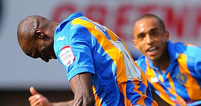 Morgan: Curled in the opener for Shrewsbury