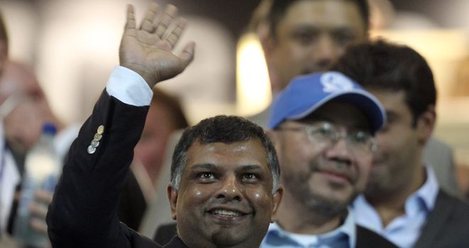 Tony Fernandes: Confident of naming a new manager at Queens Park Rangers on Tuesday