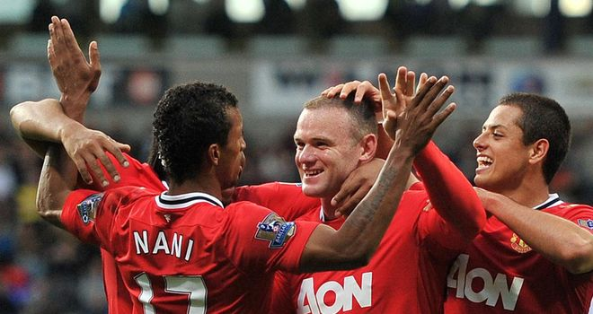 Rooney and Manchester United have been in imperious form