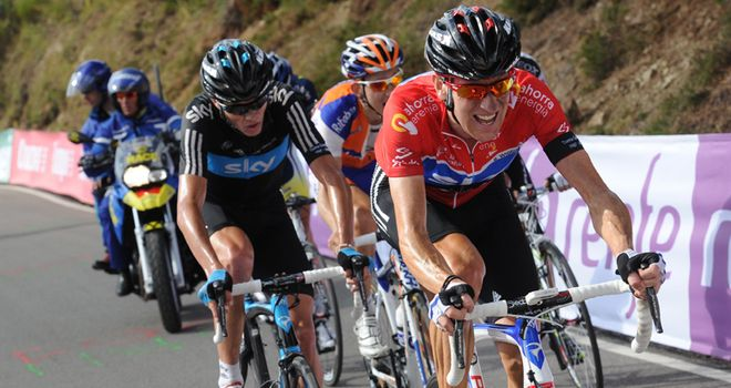 Wiggins: Teamed up with Froome on final climb