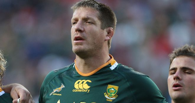 Botha will return to the Springboks starting line-up on Saturday