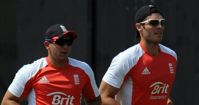 Bresnan and Tremlett: Rewarded for their efforts with a 12-month central contract