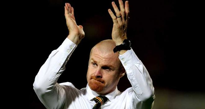 Dyche: Applauds the fans as Watford get a crucial win