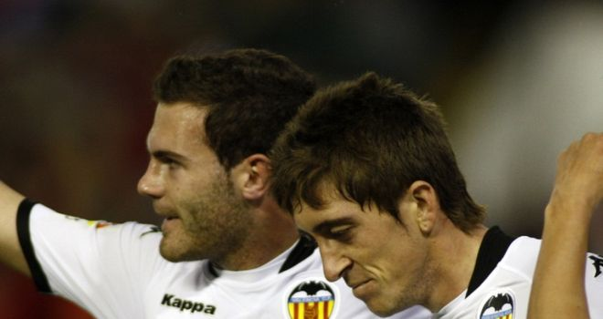 Hernandez: With Mata during their team together at Valencia