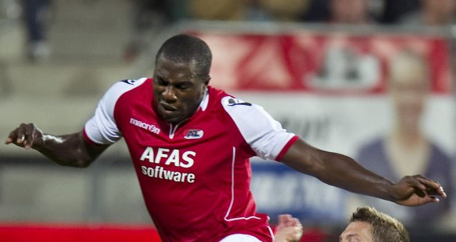 Jozy Altidore: On target for AZ Alkmaar as they moved to the top of the table