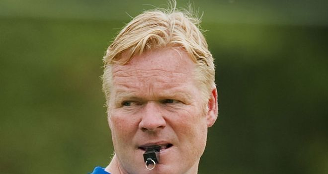 Koeman: His Feyenoord side are currently topping the Eredivisie table after thumping De Graafschap