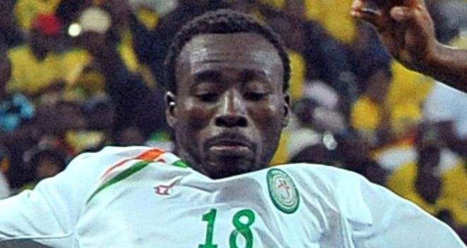 Kofi: Was on target with Niger's opening goal against South Africa