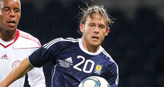 Mackail-Smith: Will not feature in Scotland's clash with Lithuania on Tuesday