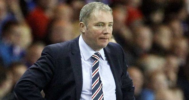Ally McCoist: Rangers' manager is to take a look at Swedish striker Joe Sise in training
