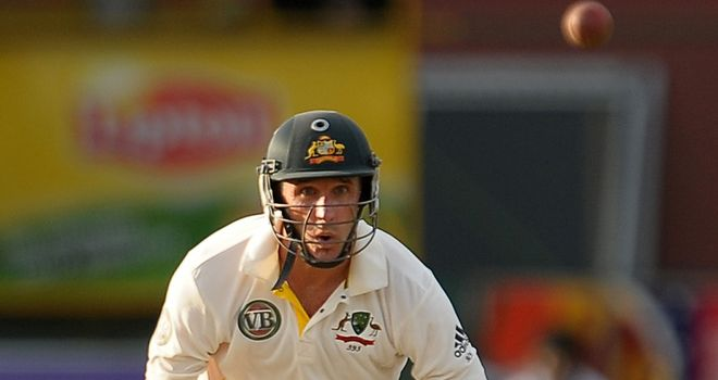 Michael Hussey: has not passed 50 in last seven innings