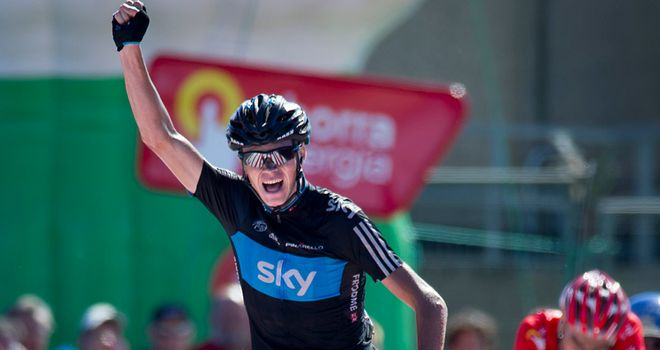 Froome: His win on stage 17 was the highlight of a memorable Vuelta a Espana