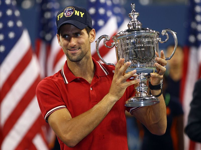 There was a third Grand Slam title of the year for Novak Djokovic.