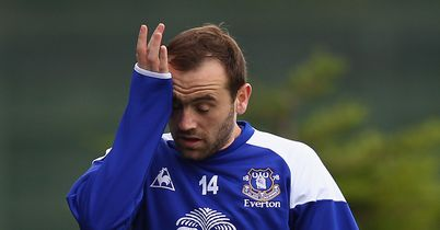James McFadden: Released by Everton following the expiration of his contract