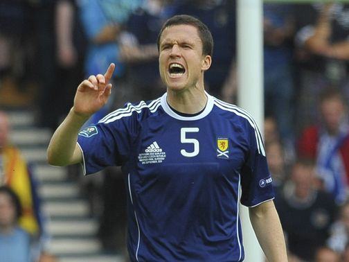 Gary Caldwell: Delighted with performance against Australia