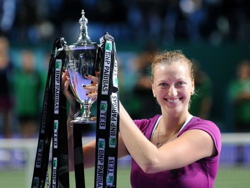 Petra Kvitova: Can keep her grip on the trophy