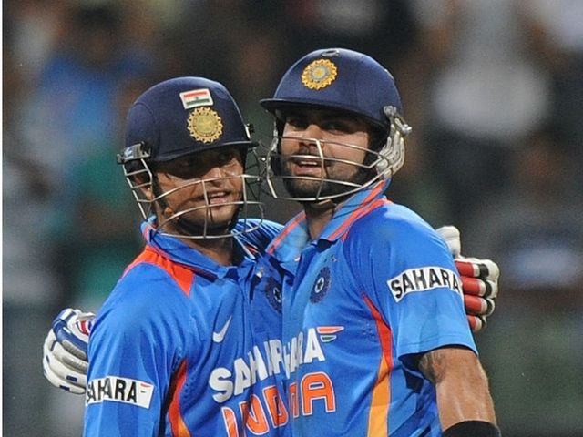 Raina and Kohli took the game away from England.