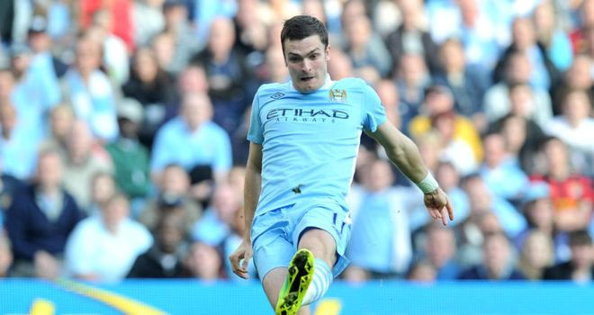 Adam Johnson: England winger has signed a new deal at Manchester City