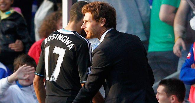 Jose Bosingwa's dismissal against QPR angered his Chelsea team-mates and Andre Villas-Boas