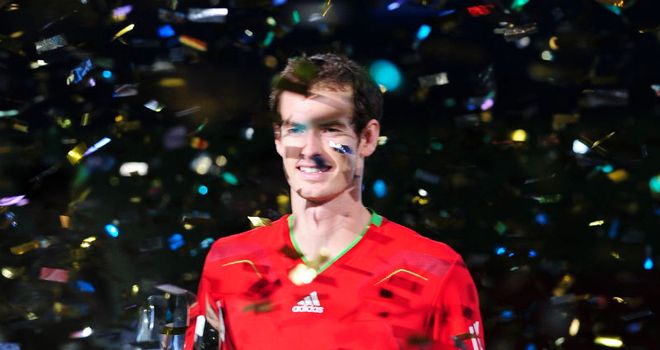 Andy Murray: in-form Scot has won 25 of his last 26 matches