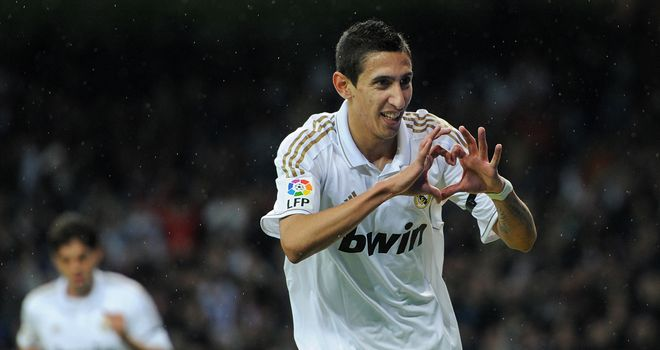 Angel Di Maria: Real Madrid winger faces a month on the sidelines with a torn hamstring