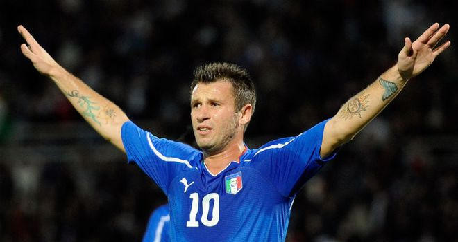 Antonio Cassano: AC Milan forward sidelined for up to six months with heart problem