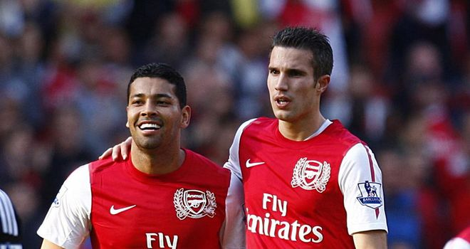 Andre Santos: Arsenal defender admits striker Robin van Persie is a key man for the Gunners