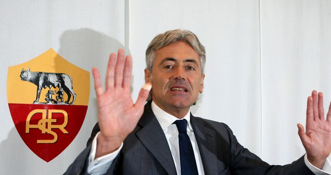 Franco Baldini: Roma general manager has been linked with Tottenham Hotspur