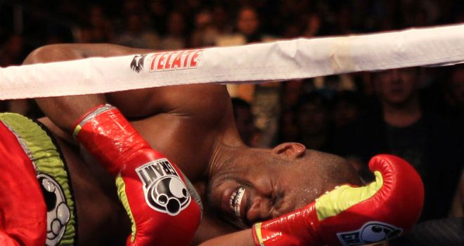 Bernard Hopkins: Stopped after picking up shoulder injury