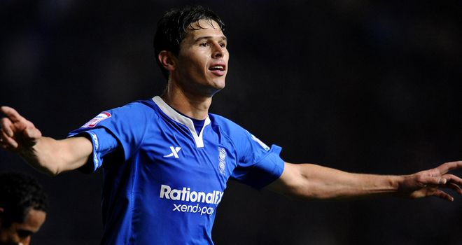 Nikola Zigic: Striker remains committed to Birmingham City after being linked with a January move