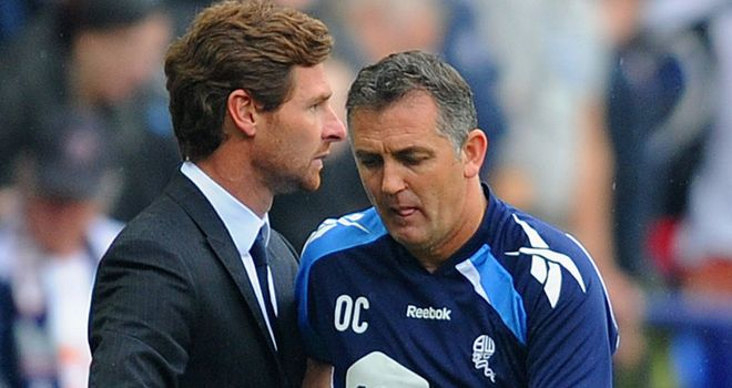 Owen Coyle: Bolton manager believes Andre Villas-Boas will be stronger for his time at Chelsea