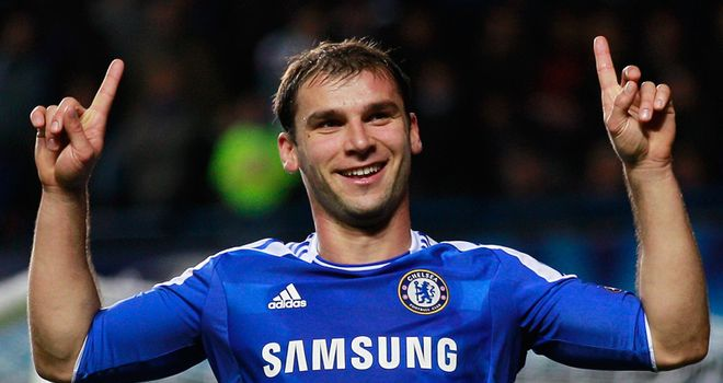 Branislav Ivanovic: Aiming to move up the Premier League table with another three points against Liverpool