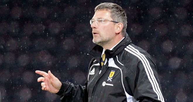 Craig Levein: Keen to test Scotland against one of the top sides in world football