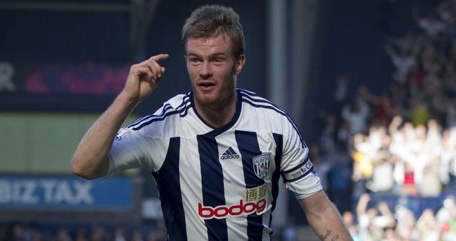 Chris Brunt: West Brom skipper believes a win over Blackburn on Saturday will ease relegation worries